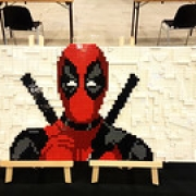 "My deadpool mosaic for swiss fantasy show • <a style=""font-size:0.8em;"" href=""http://www.flickr.com/photos/98327290@N02/42402826251/"" target=""_blank"">View on Flickr</a>"