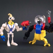 """Earthworm Jim & Psycrow • <a style=""""font-size:0.8em;"""" href=""""http://www.flickr.com/photos/36742599@N05/39707452294/"""" target=""""_blank"""">View on Flickr</a>"""