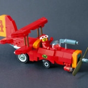 """Wacky Races - Crimson Haybailer • <a style=""""font-size:0.8em;"""" href=""""http://www.flickr.com/photos/36742599@N05/39486964165/"""" target=""""_blank"""">View on Flickr</a>"""