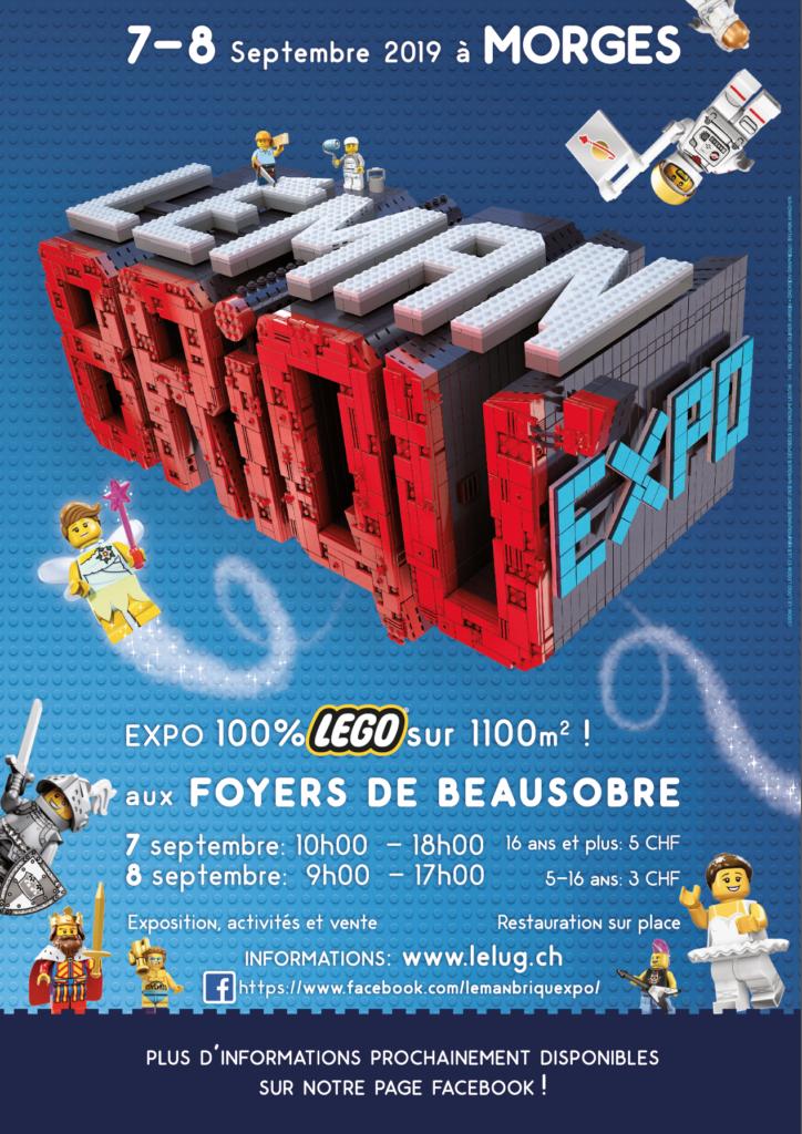 Flyer Léman briqu'expo 2019