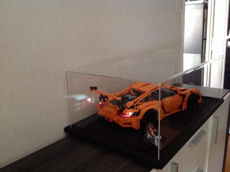 Vitrine Porsche trás