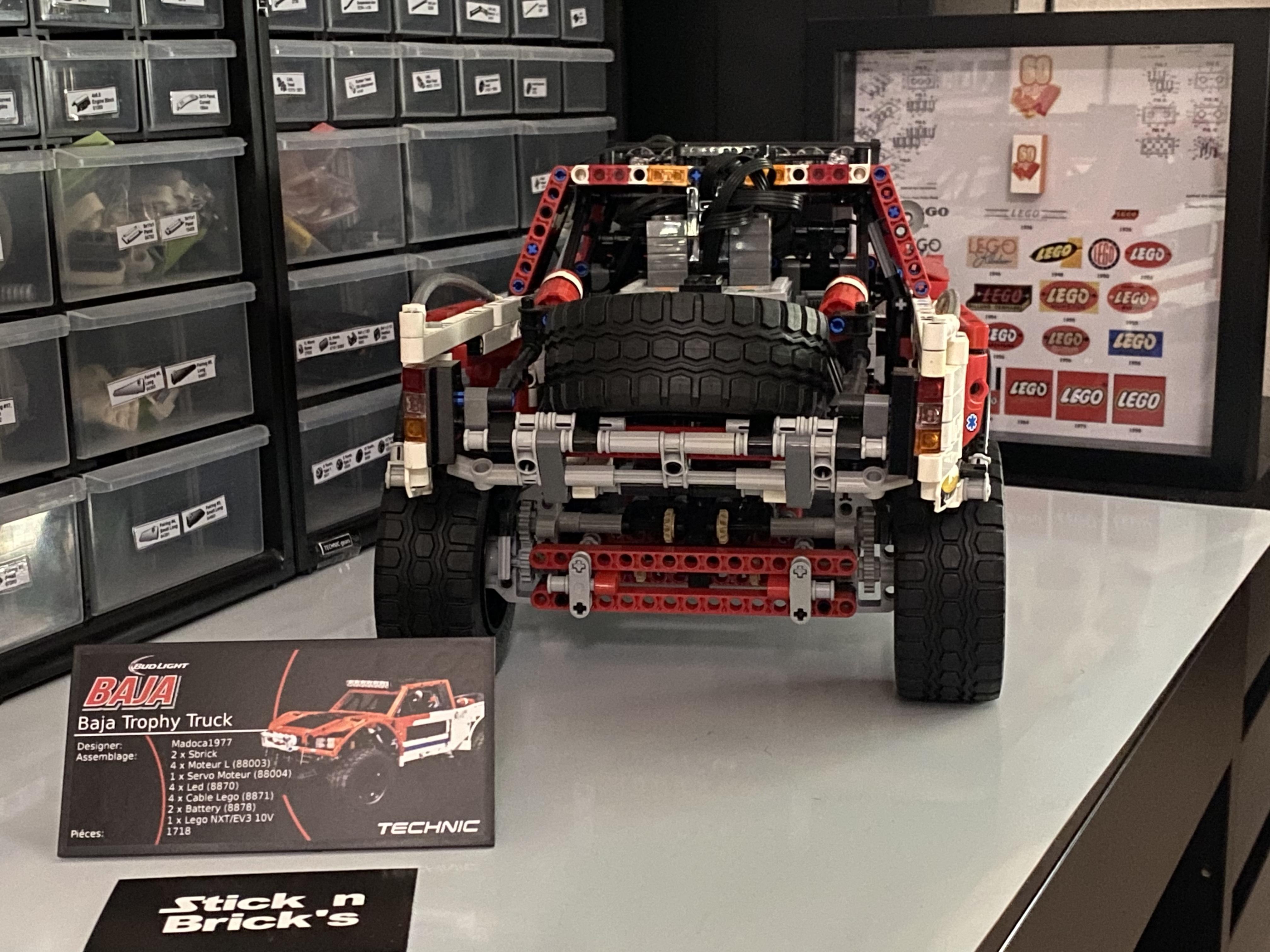 Baja Trophy Truck trás